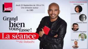 UPCBD émission radio france inter